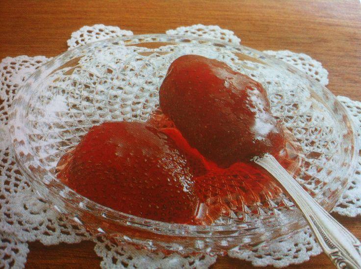 Strawberry Spoon Sweet Preserve (Glyko koutaliou Fraoula)