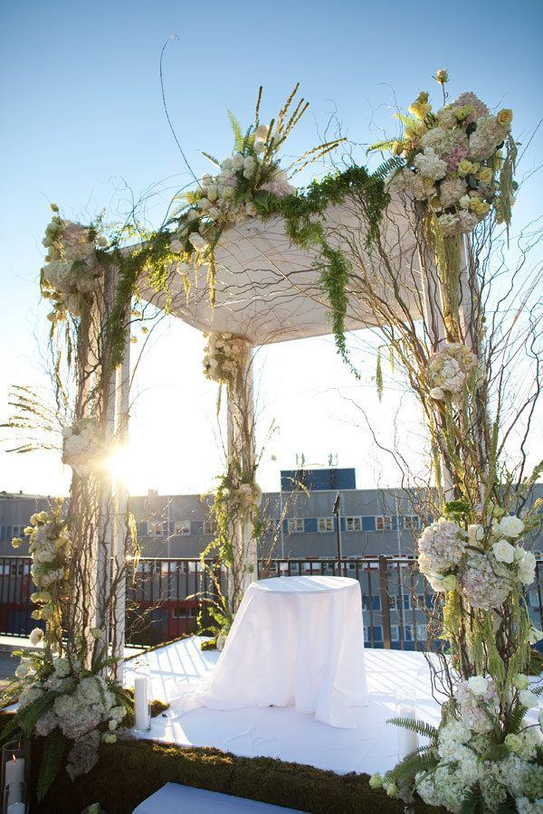 STUNNING Wedding Canopy or Chuppah ~ Photography by allanzepeda.com, Floral Design by davidtutera.com