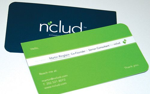 13 best business cards for bsm images on pinterest creative business card of nclud a small web design agency located in washington dc reheart Gallery