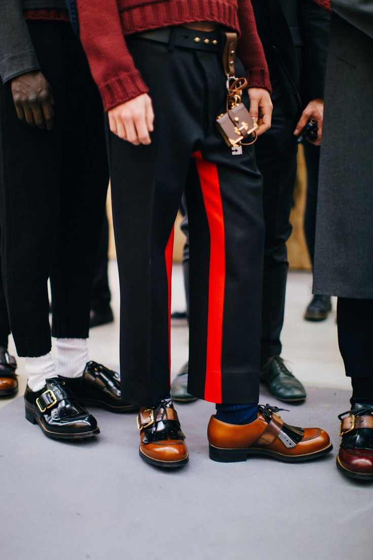 Prada, Fall 2016 backstage shot by Joshua Woods.