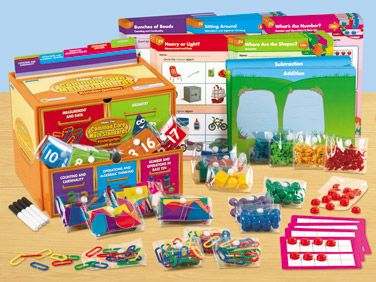 Meet the Common Core Math Standards Learning Center - Kindergarten at Lakeshore Learning