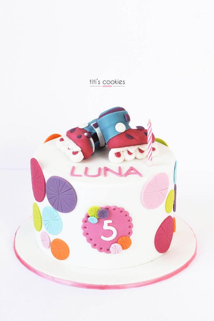 Tarta Patines - Roller skates Cake ^^