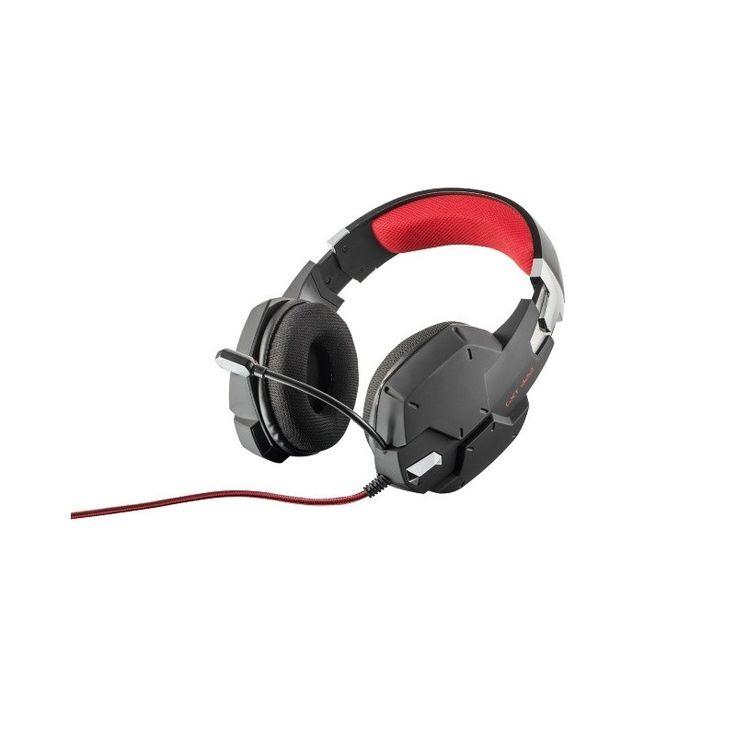 Trust GXT 322 Dynamic Black - Párnázott gaming fejhallgató, flexibilis mikrofon és erőteljes basszus. Csatlakoztatható PC/Mobilkészülék, és XBOX ONE -hoz.