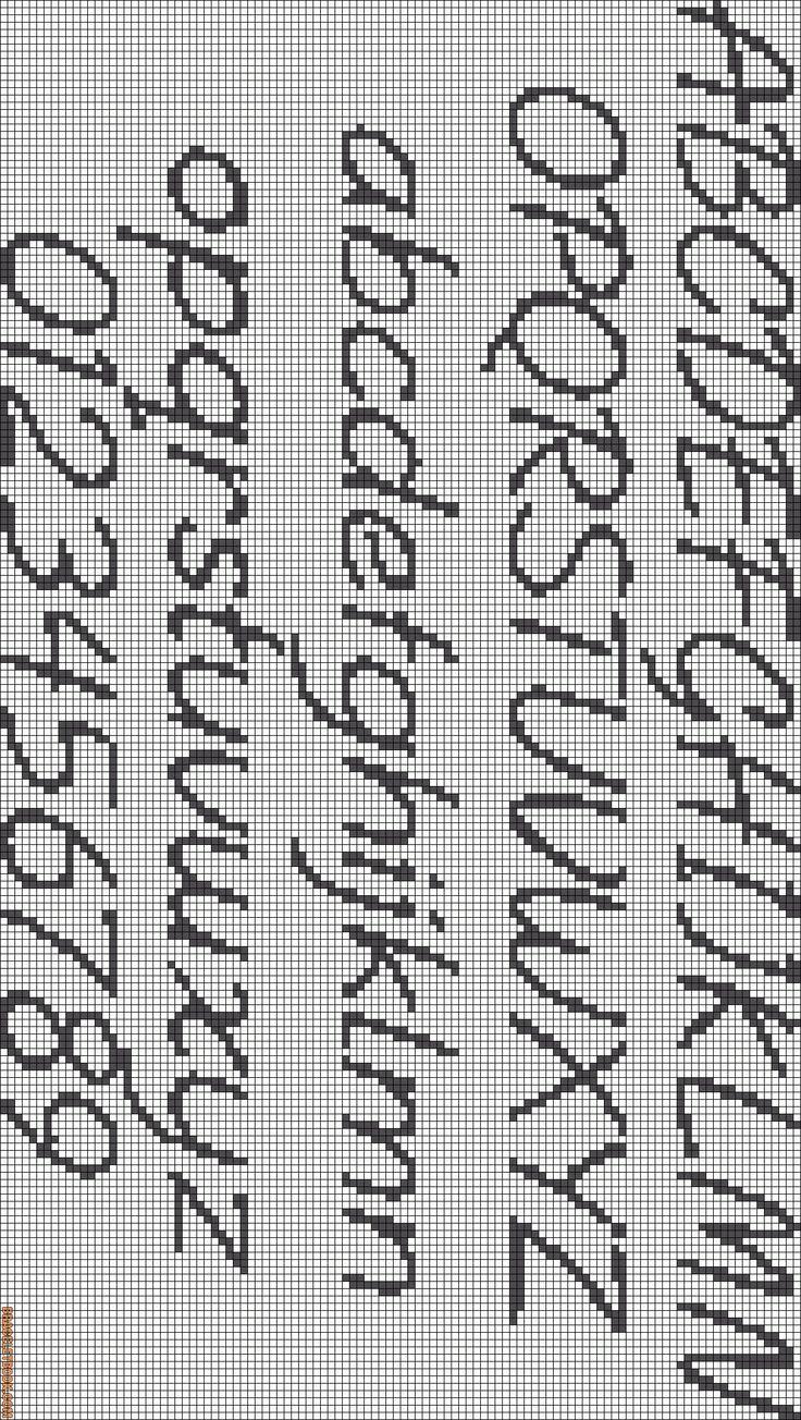 Letters for bracelets