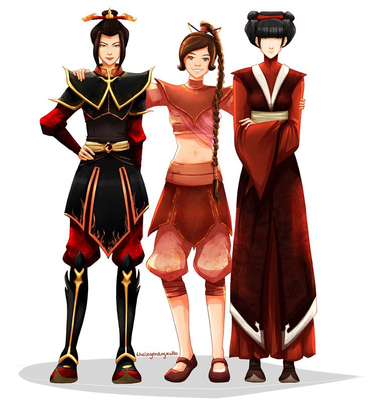 ty lee, mai and azula (faves) by thelegendofzuko.deviantart.com on @DeviantArt