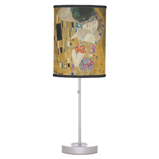 The Kiss - Gustav Klimt Lamps