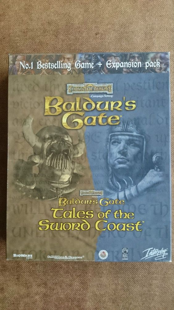 Baldur S Gate Pc Plus Expansion Pack Tales Of The Sword Coast Big