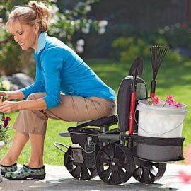 Best 25 Garden Cart Ideas On Pinterest