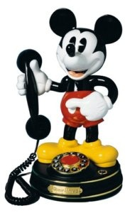 Vintage Mickey Mouse phone.