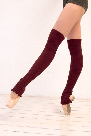 how to wear ballet leg warmers