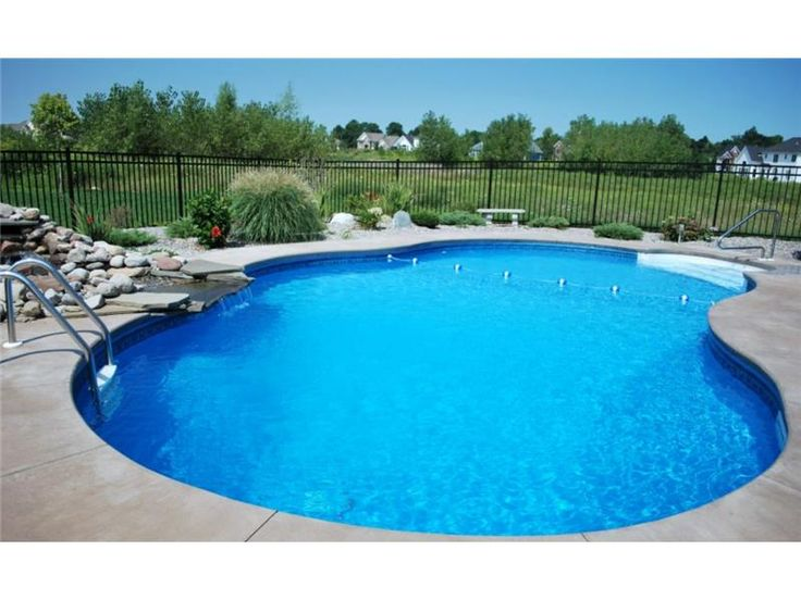 17 best images about in ground pool designs on pinterest for 16x32 pool design