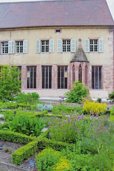 Les jardins des Dominicains à Guebwiller