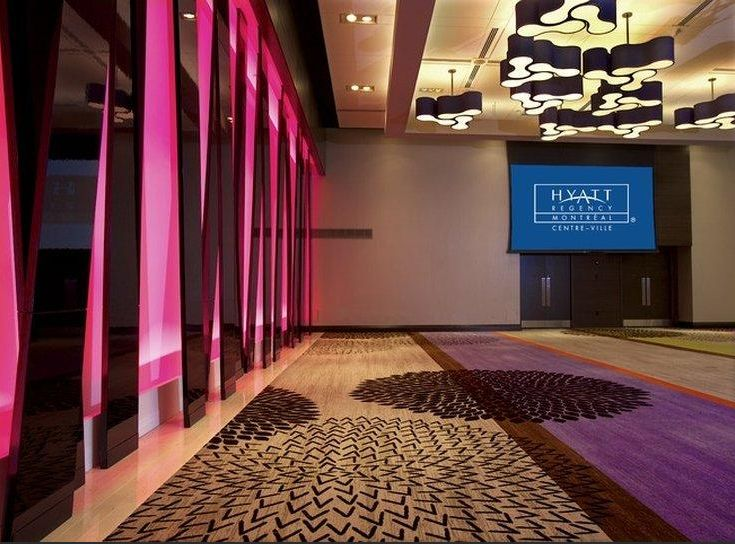 Hyatt Regency Montréal equipped with Desso Carpet