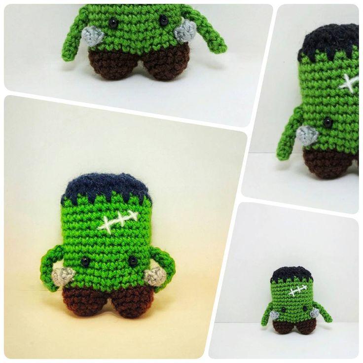 Crochet frankenstain
