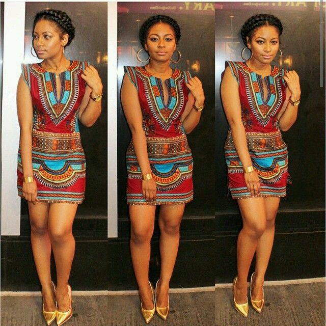 Top Ten Beautiful Ankara Dress Styles to Rock 2016  Dabonke