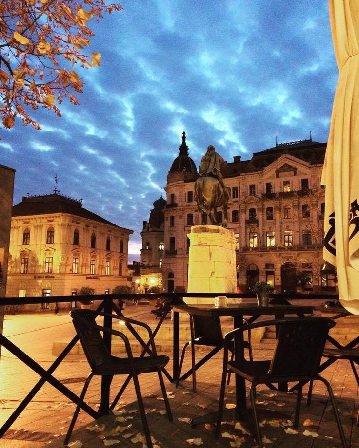 Pécs - Széchenyi tér - BAZÁR-i látvány