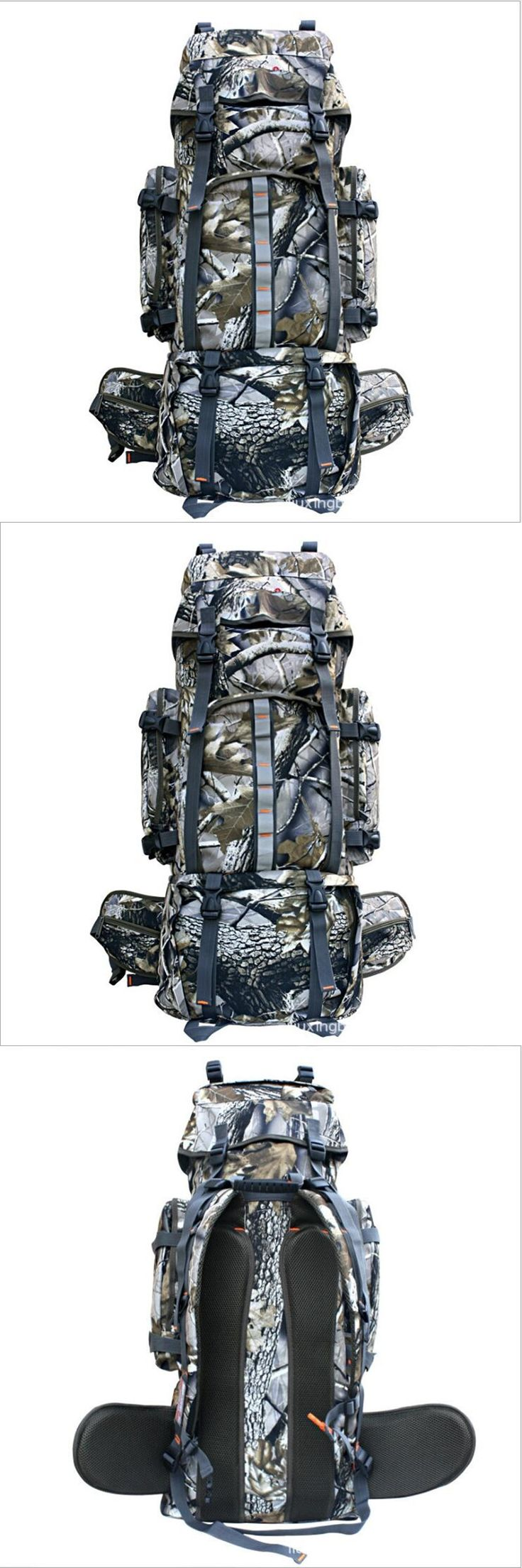 Outdoor Camo Camping 70L Men's Military Big Waterproof Backpack Nylon for Cycling Hiking Sports Climbing Bag China Shop Online