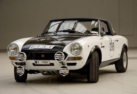 Fiat 124 Spider Rally