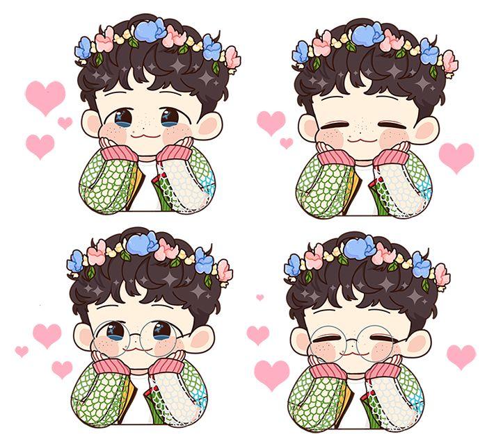 햇 (*´ㅅ`*) 반 en Twitter: •160627 #Fanart #Baekhyun #EXO Cr: hetbahn_