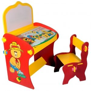 Kid's Study Table with Chair