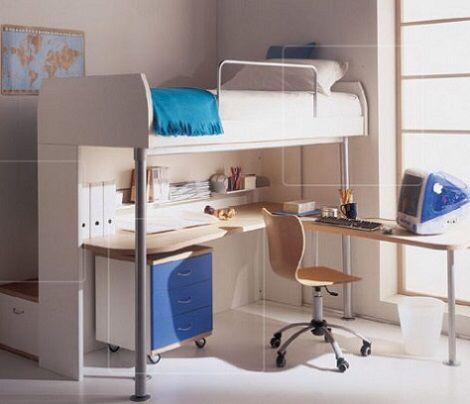 Imagen de - Habitaciones infantiles compartidas pequenas ...
