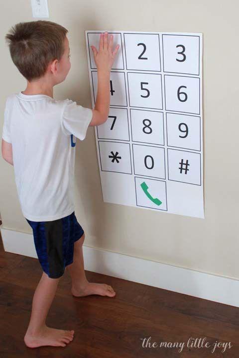 Sicherheitsfähigkeiten: Wie Sie Ihrem Kind beibringen, sich seine Telefonnummer zu merken – Beef H