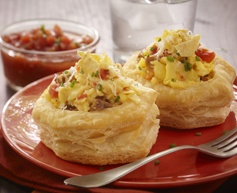Looking to spice up Brunch? Try our Mexicali Scramble Patty Shells!