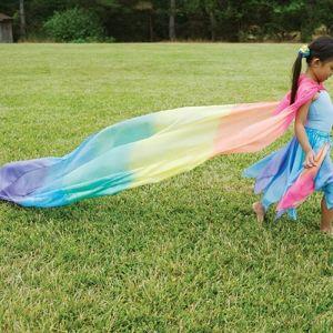 Mijn Hemeltje: Sarah's silks regenboogzijde