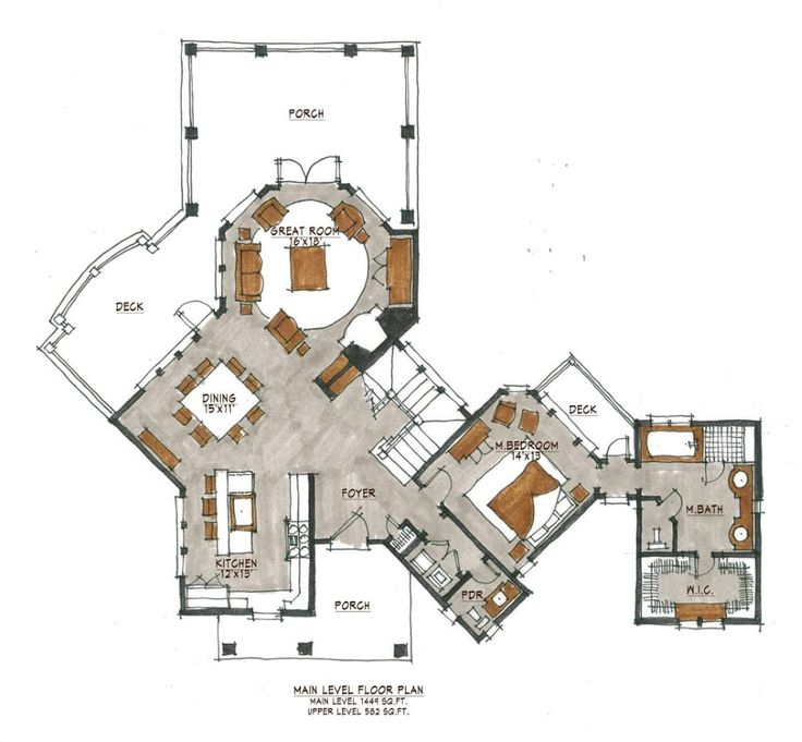 82 best Cool House Plans not passive solar images on Pinterest