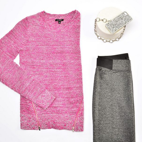 We love adding some shine to our casual outfits this season!