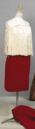 BALENCIAGA, haute couture, circa 1960 - Robe d'après midi