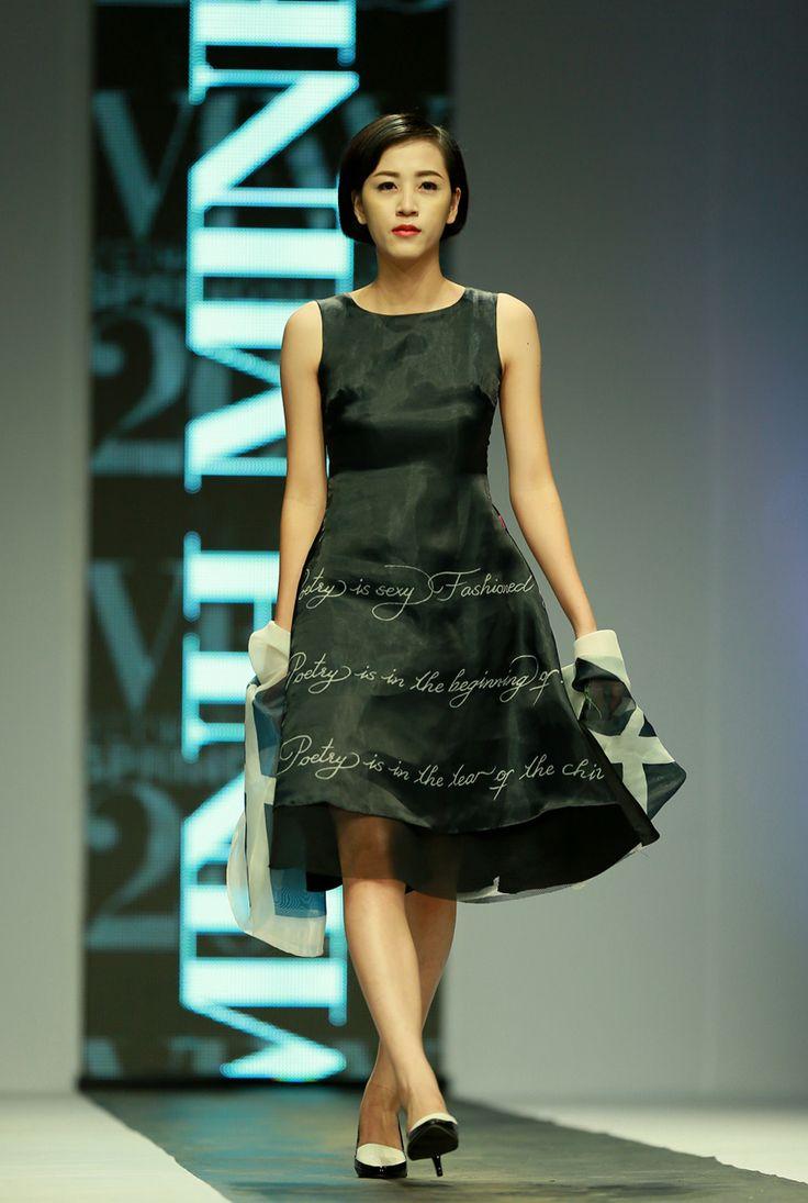 Vietnam Fashion Week SS15 - Ready to wear. Designer: Minh Minh. Photo: Nguyen Thanh Dat