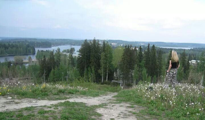Beautiful views in Ikaalinen, in Central Finland.