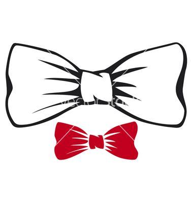 Bowtie Vector Best 25+ Bow tie tatto...