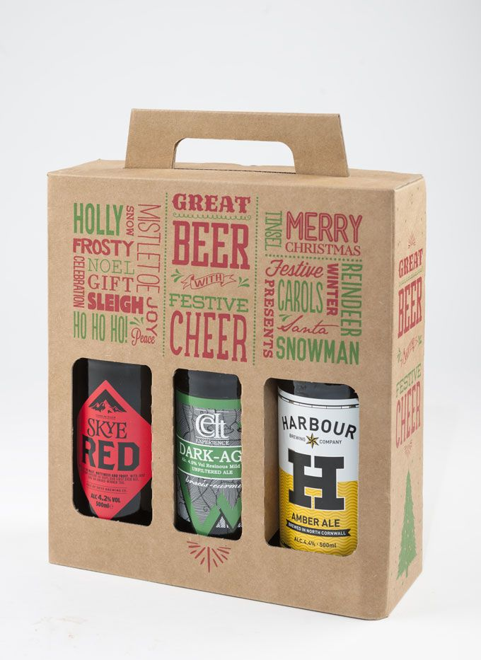 Great Beer With Festive Cheer - 3 bottle 500ml