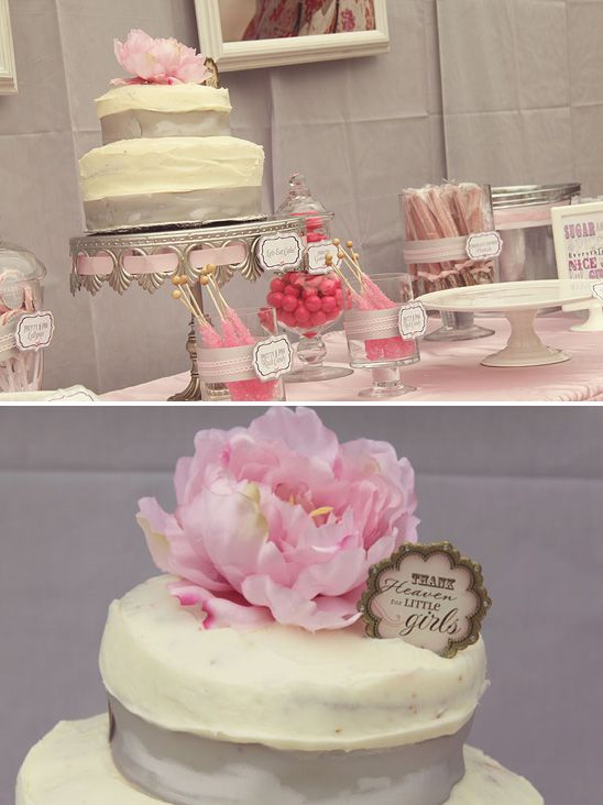 17 best images about baby shower on pinterest pink baby - Elegant baby shower ...