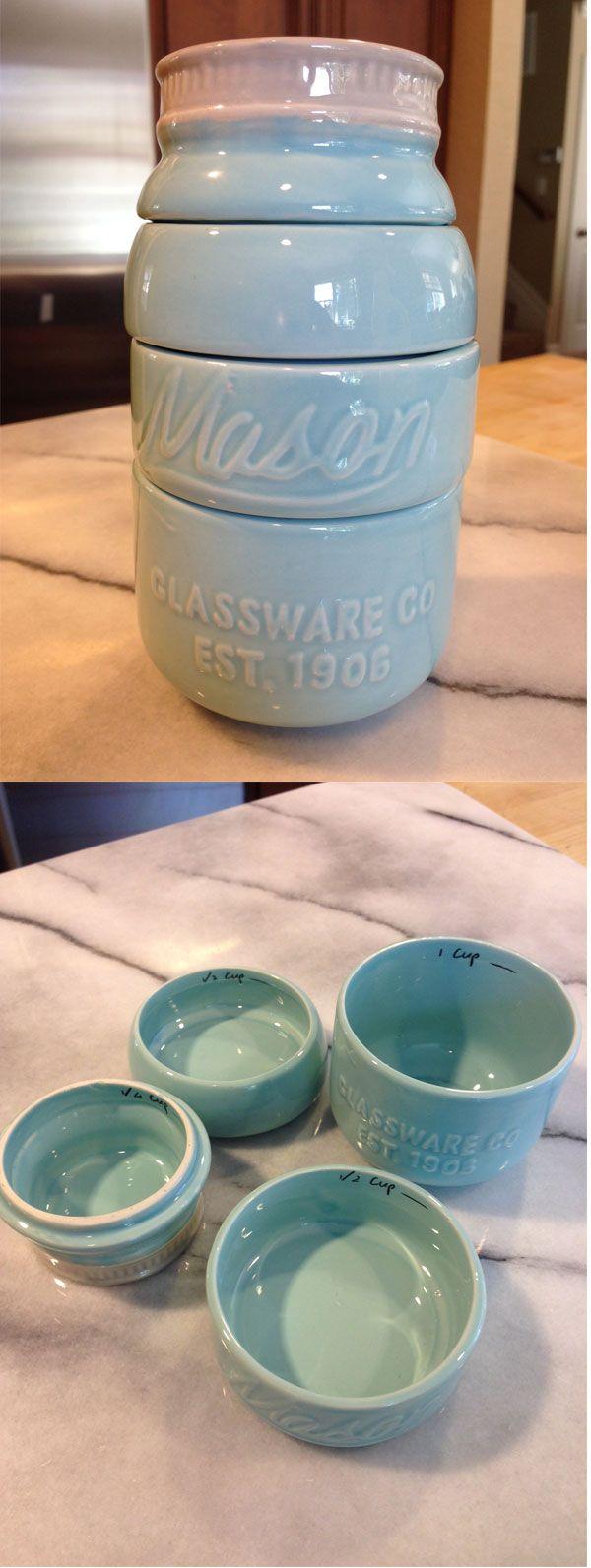 Darling Mason Jar Measuring Cups
