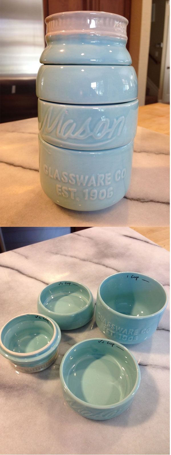 Darling Mason Jar Measuring Cups - only $12.99! http://rstyle.me/n/jngwvnyg6