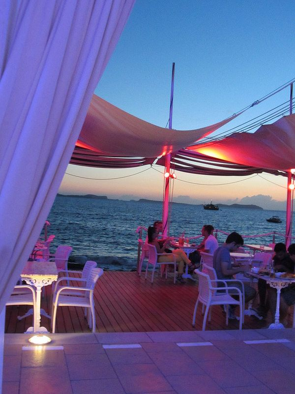 Cafe del Mar Ibiza. Just looking at this picture makes me feel more relaxed already.