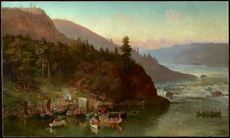 The Red River Expedition at Kakabeka Falls