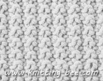 Free Sand Stitch Knitting Pattern: Cast on an even number of stitches. Row 1:...