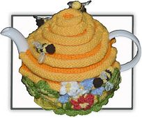 Ravelry: Bee Hive Tea Cosy pattern by Marcelline Simonotti