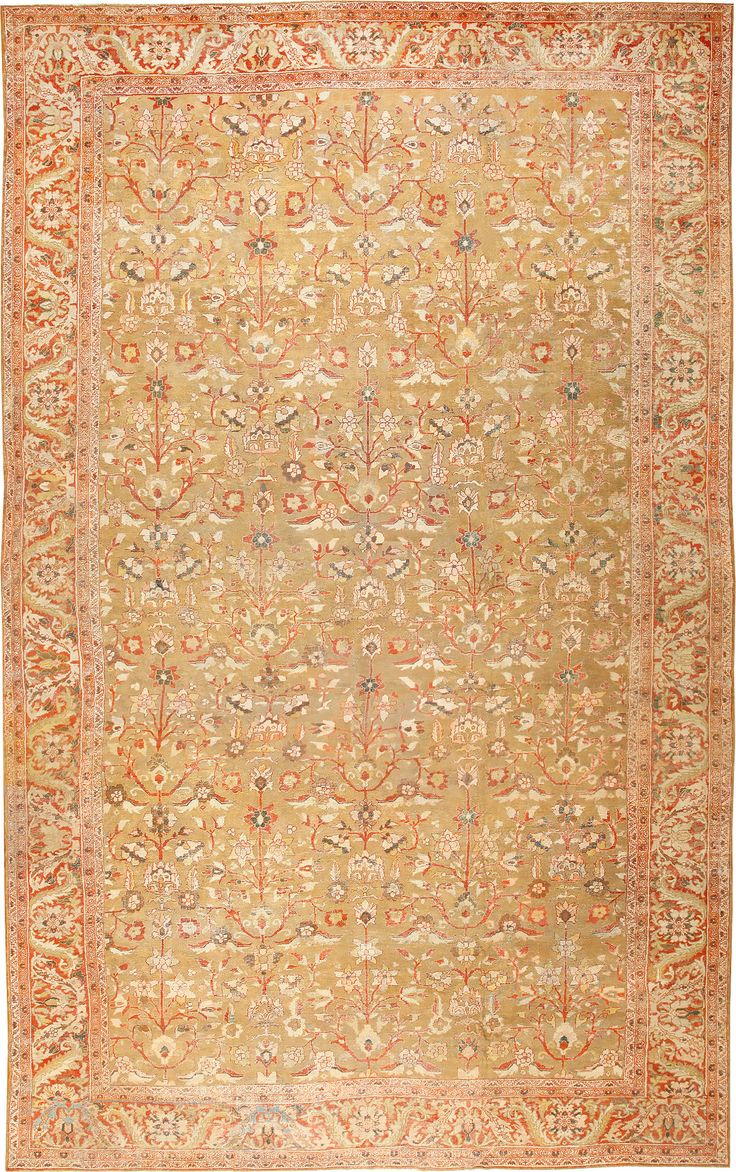 Persian Antique Sultanabad Rug Country Of Origin Type Rugs Circa Date 1900 15 Ft X 24 6 In M