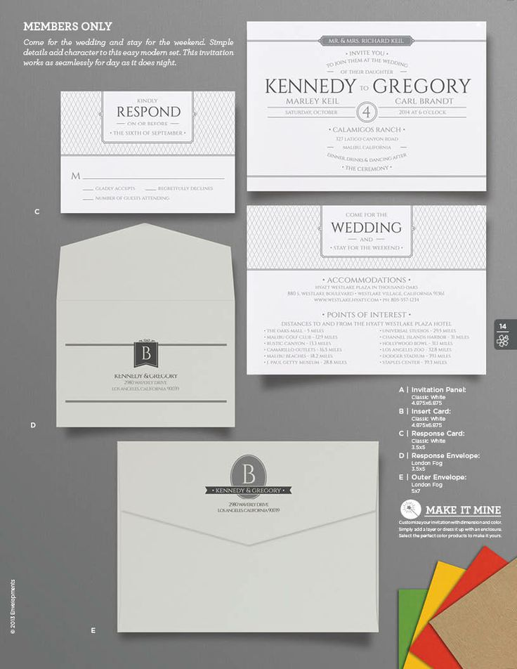 Members Only  Wedding Invitation From Envelopments206 best Envelopments Original Designs images on Pinterest  . Envelopments Wedding Invitations. Home Design Ideas
