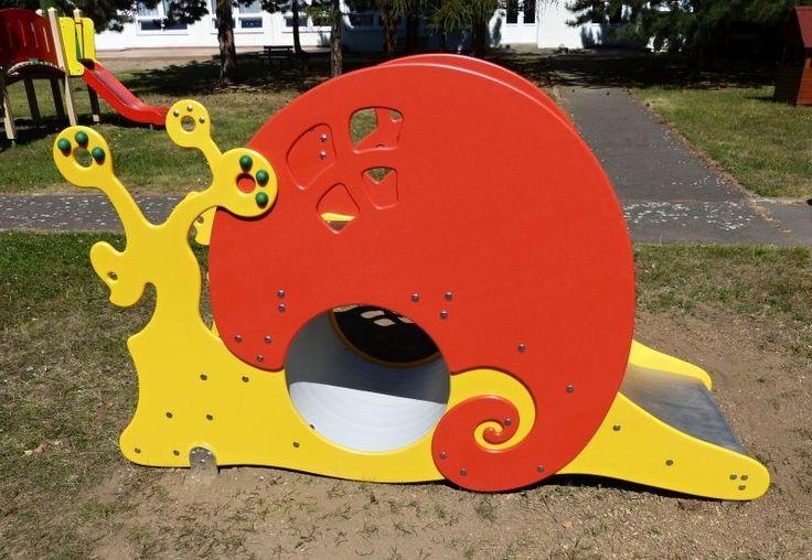 Snail - Playground 8D - www.prolezacky.cz Šneček - herní sestava