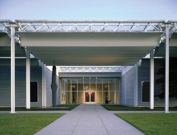 Menil collection museum by Renzo Piano