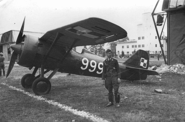 Захваченный немцами в 1939 польский истребитель PZL П-7а, pin by Paolo Marzioli
