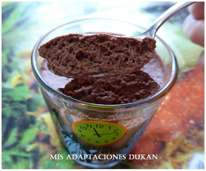Mousse de chocolate #Dukan