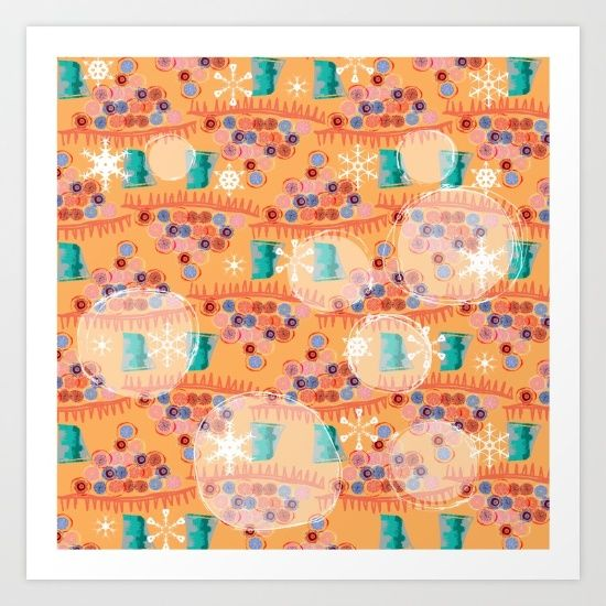 https://society6.com/product/christmas-trees-snowflakes-and-bubbles_print#s6-6234659p4a1v45.  $15