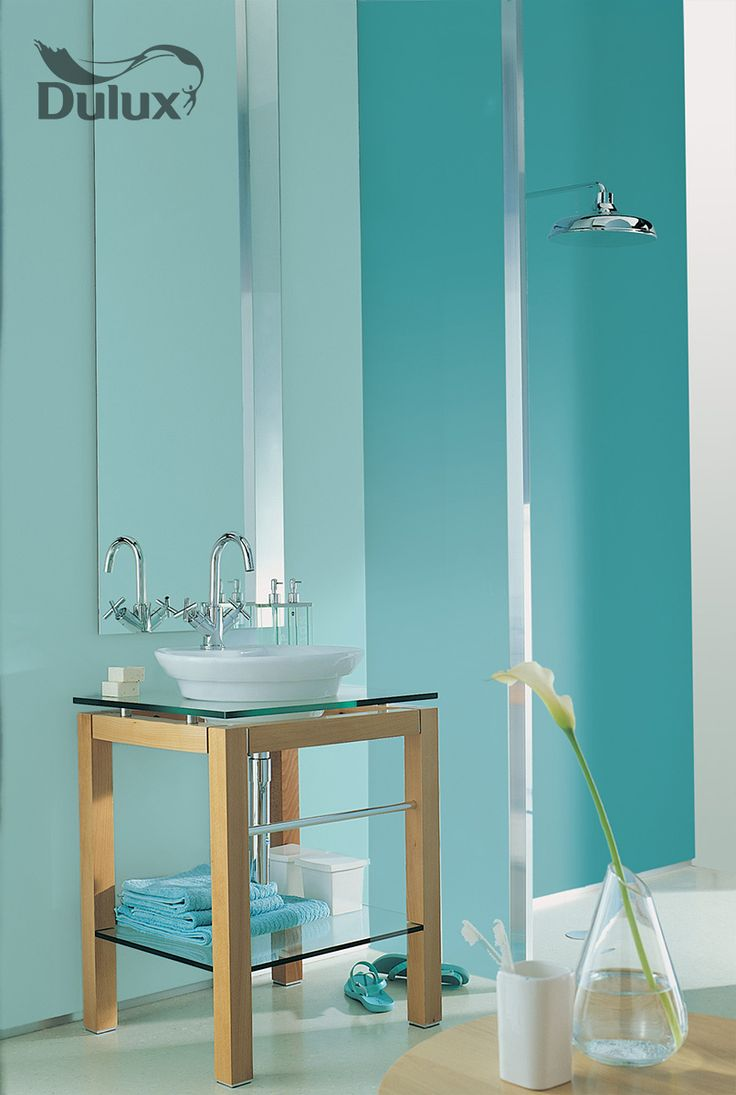 Tiffany blue bathroom designs -  Dulux Colour Blue Tiffany Bluebathroom Ideascolour